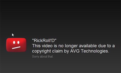 rickrolld