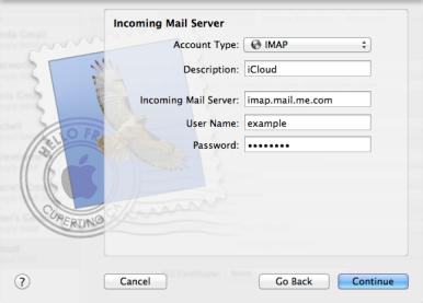IMAP-iCloud