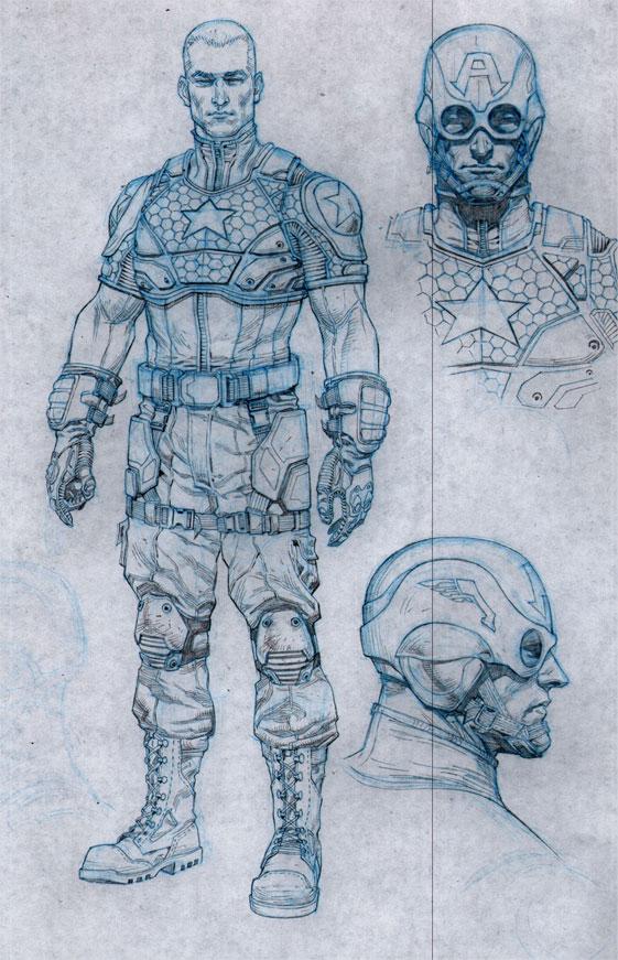 Captain America Concept 1