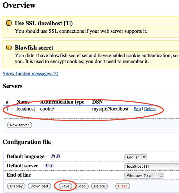 Save-PHPMyAdmin-Config-Server