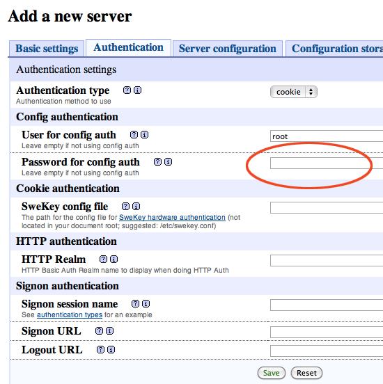 Set Username Ppassword phpmyadmin
