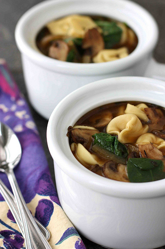 Tortellini-Soup