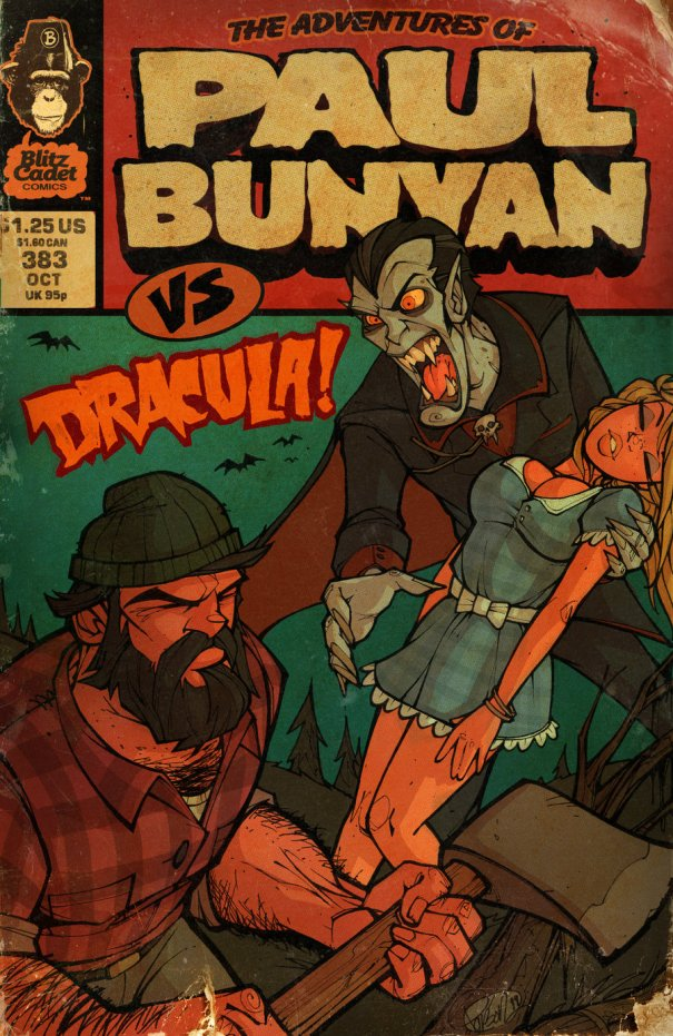 Paul Bunyan vs Dracula