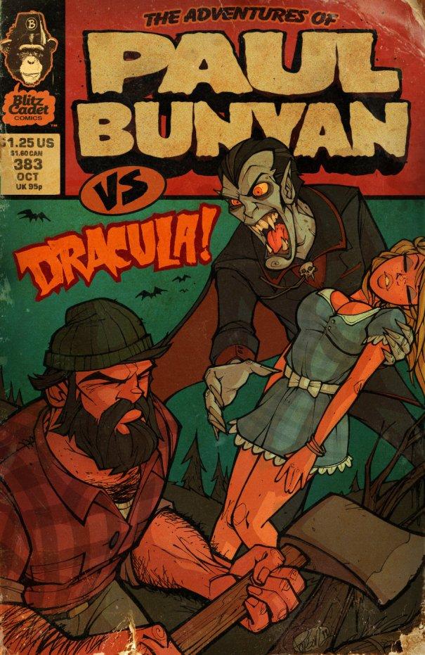 Paul Bunyan vs Dracula