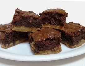 Toffee-Brownies