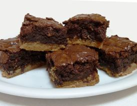 Toffee-Brownies