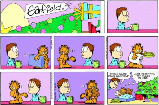 Garfield Christmas 3 Days