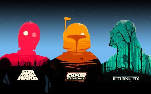 Olly Moss Star Wars Wallpaper