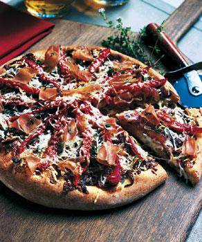 Prosciutto-Pizza