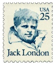 Jack London Stamp