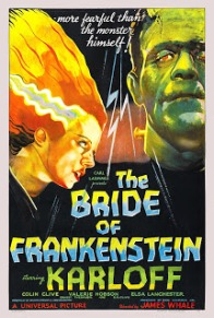 The Bride of Frankenstein v1
