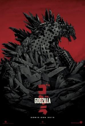 Godzilla Comic Con 2013