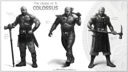 Colossus - Sketch