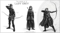 Lady Grey - Sketch