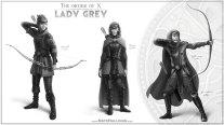Lady Grey - Sketch